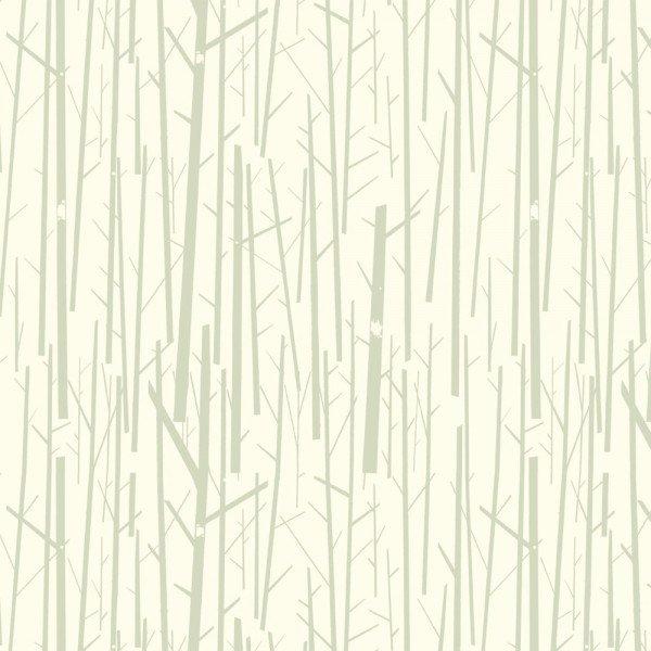 Western Birds by Charley Harper Perch in Cream CH-50