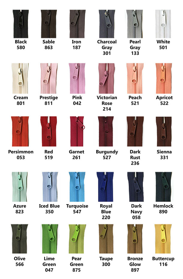 YKK Designer Accents 14 Inch Zipper