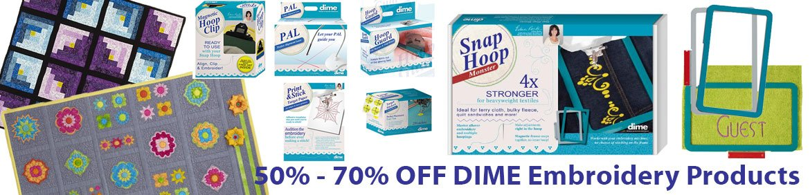 Dime Embroidery Products
