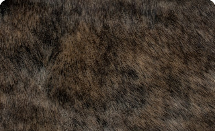 Dire Wolf Fur 58/60 Taupe Gray