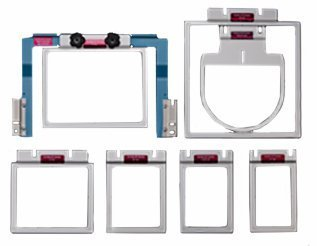 Durkee EZ Frame 7-Piece Set W/Arm for Brother Multi-Needle Embroidery Machines SAEZ7MN