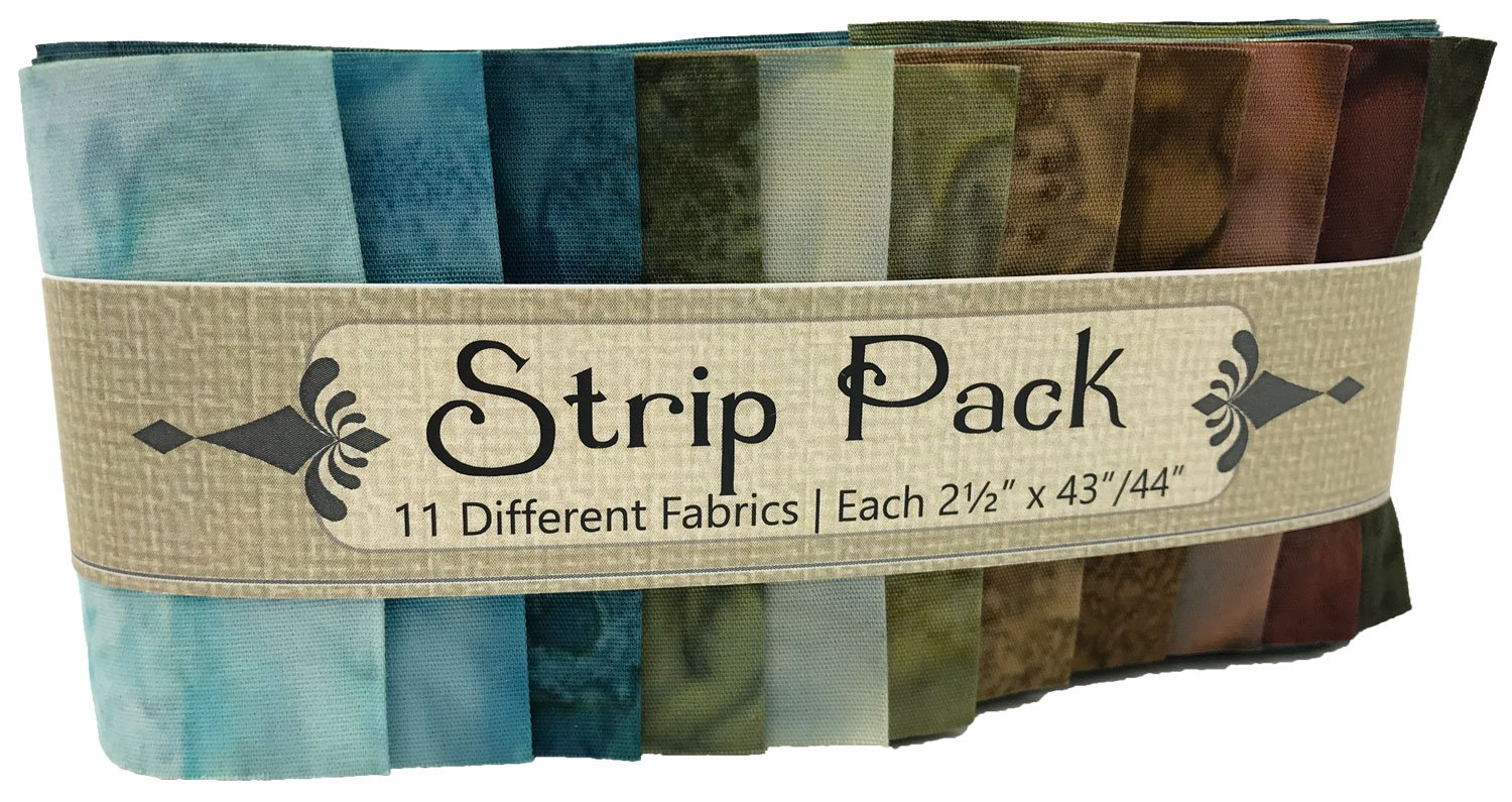 Strip Pack 2.5 Inch Earth
