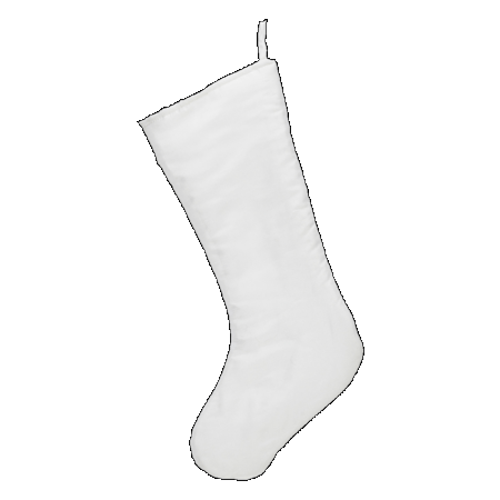 Embroider Buddy White Chic Stocking