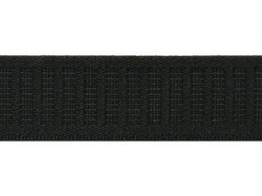 Elastic Poly Knit 1 Inch Black