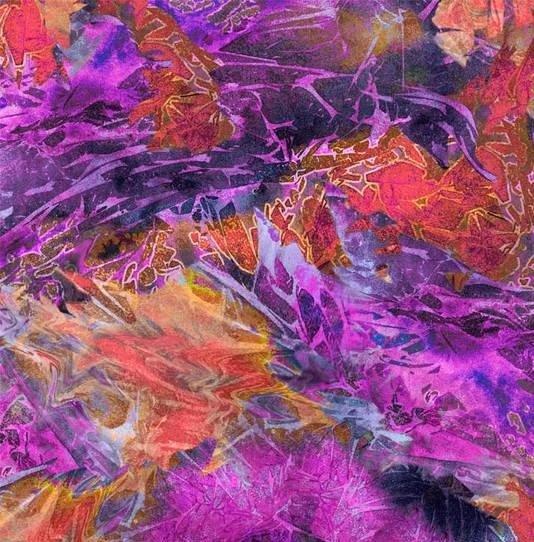 Flower Jewels 04260 MU Batik Texture