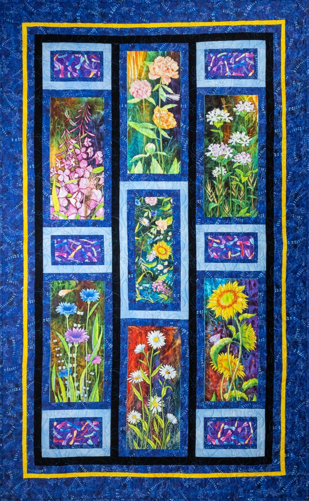 Flower Jewels Quilt Kit