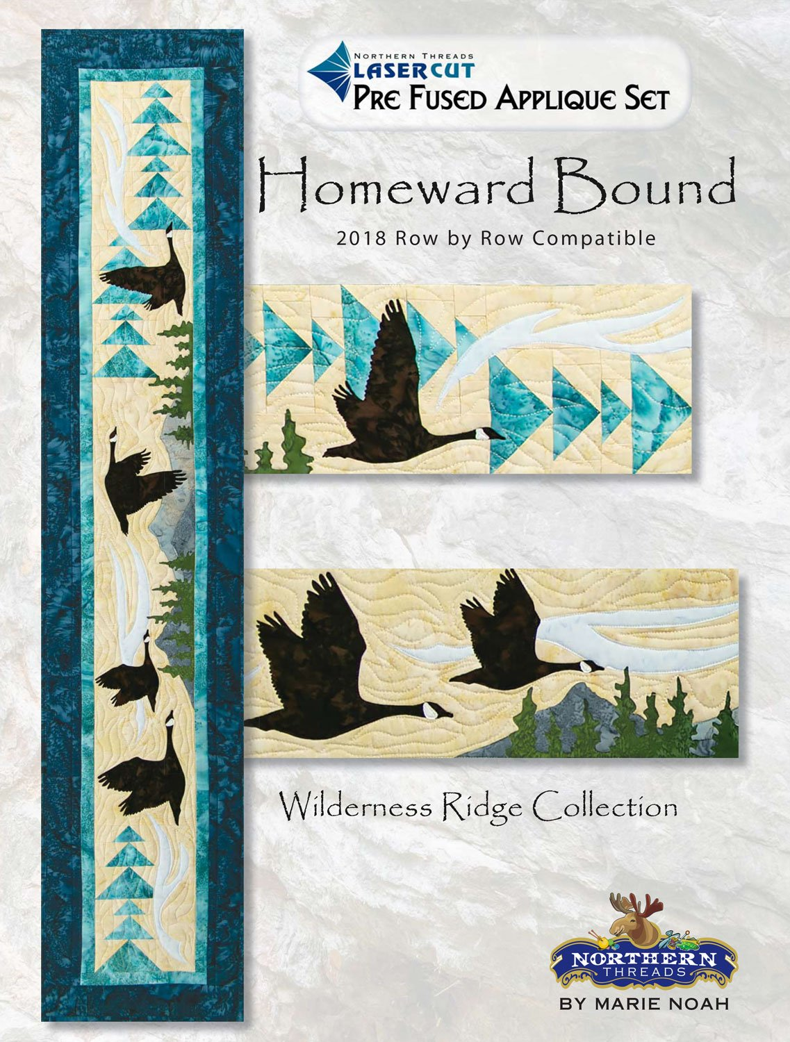 Homeward Bound Wilderness Ridge Applique Set