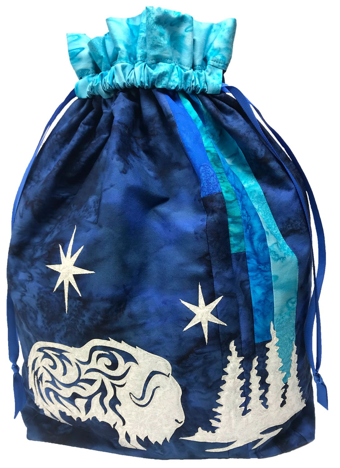 Arctic Holiday Gift Bag Kit Blue