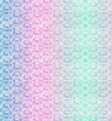 Hoffman Backsplash Digital Cuddle 58/60 Wide - Pastel