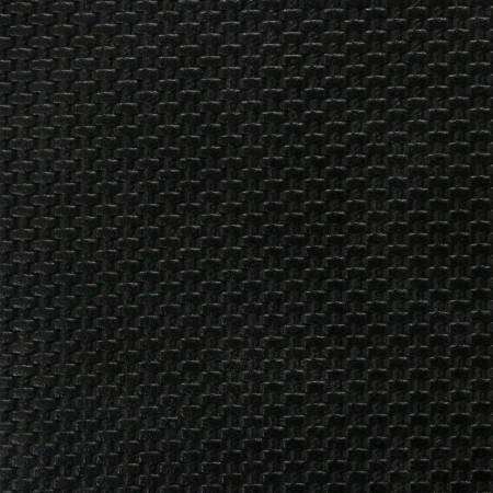 Faux Leather Black Weave 18x25