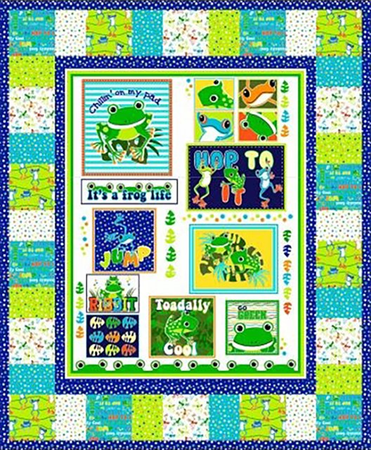 Just Chillin' Toadally Cool Quilt Kit