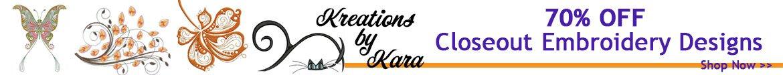 Kreations by Kara Design Sale