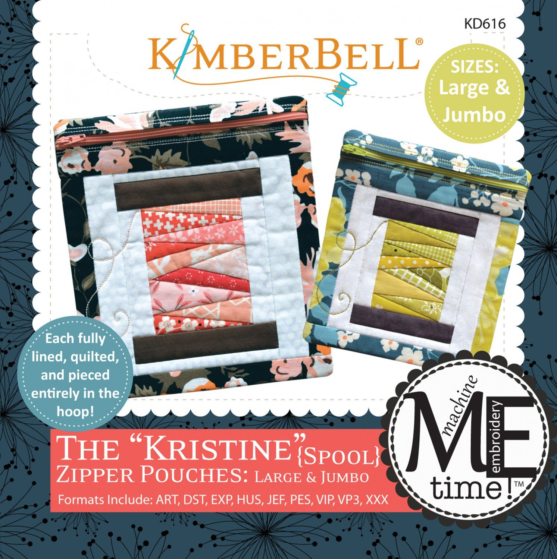 The Kristine Zipper Pouches L/J CD KimberBell