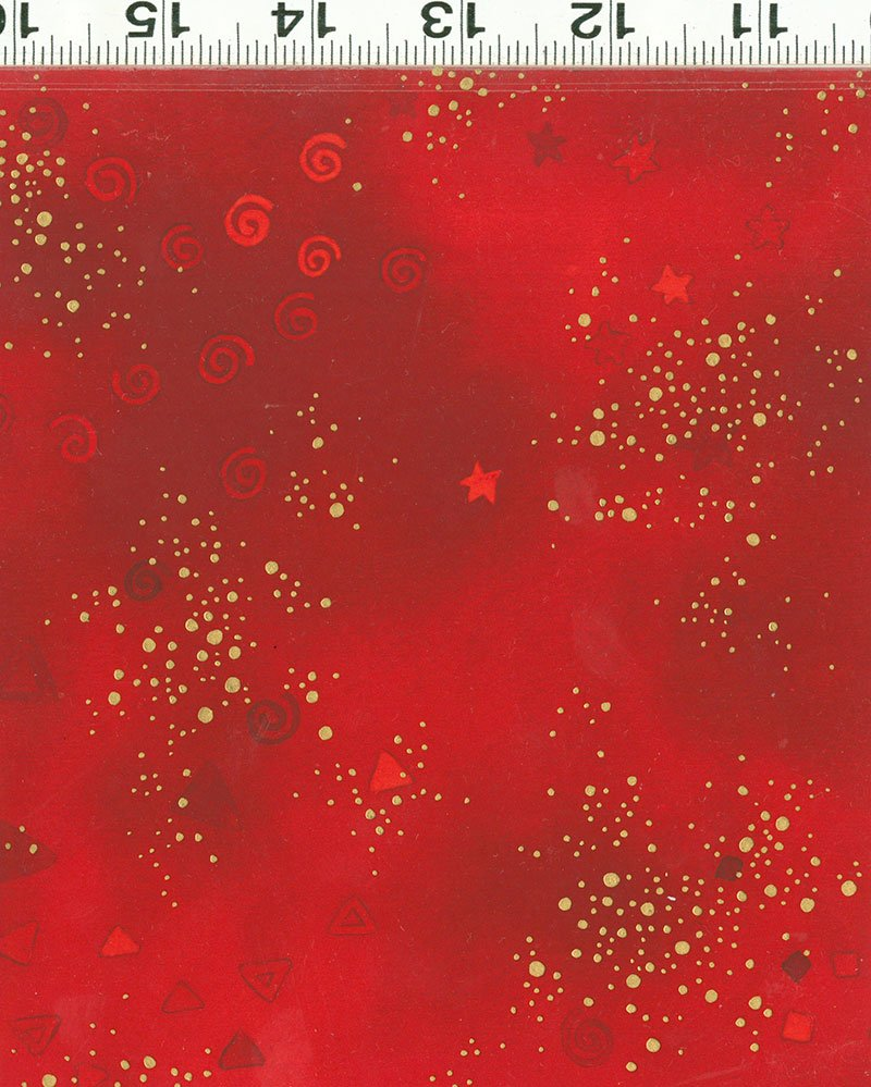 Laurel Burch Basic Glitter Y0808-4M Light Red Metallic
