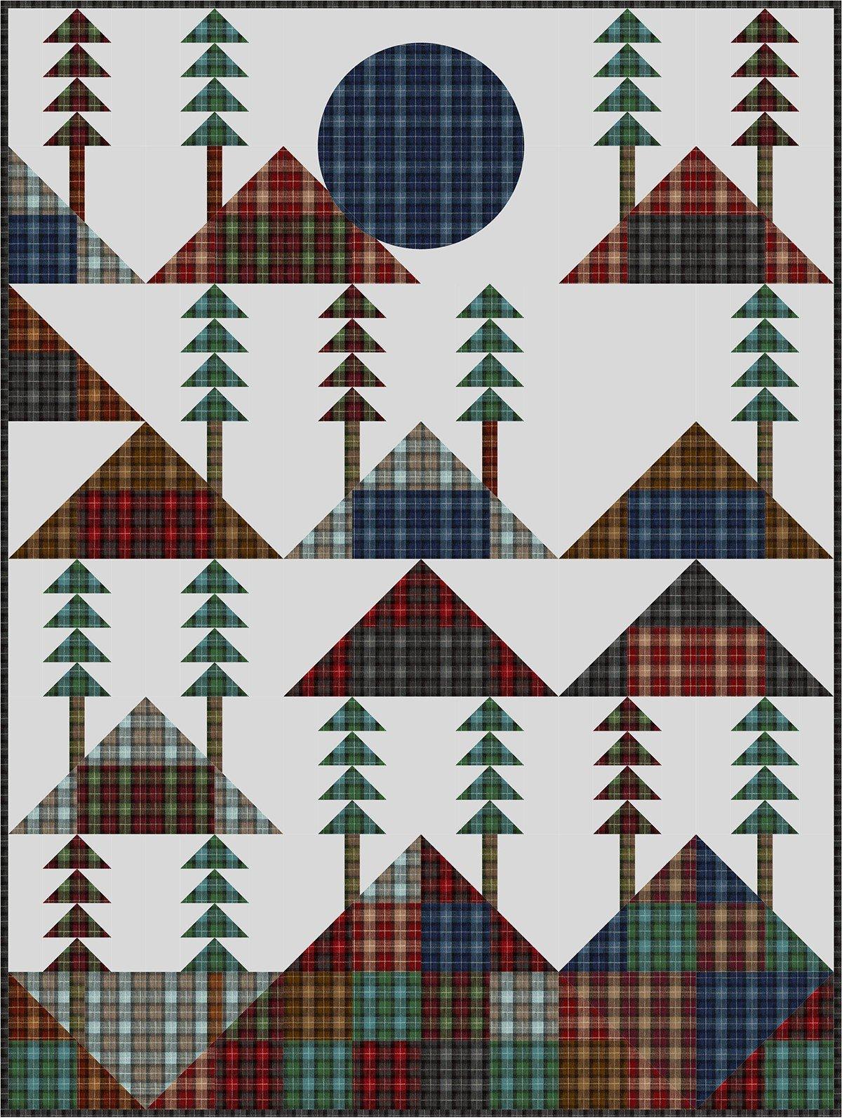 Mountain Lodge Quilt Kit