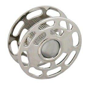 Bernina 006026.52.00 Rotary Style Metal Bobbin 5 Pk