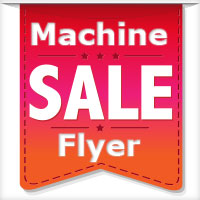 Machine Sale Flyer