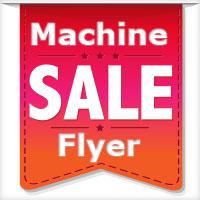 Machine Sale Flyer