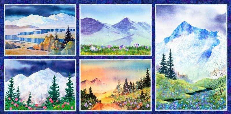 Majestic Mountains MAJM 3199 MU Panel