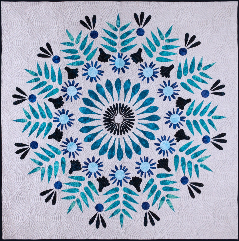 Mandala Quilt Kit Batiks