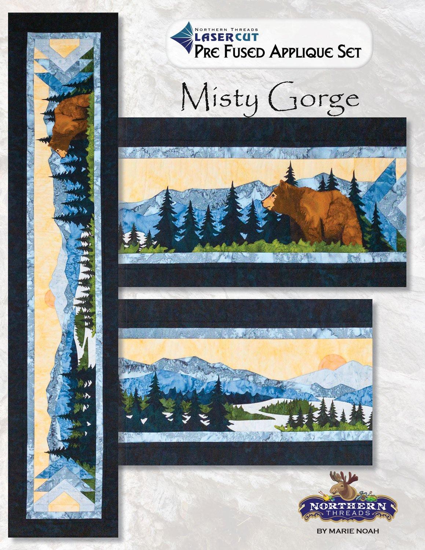 Misty Gorge Applique Set
