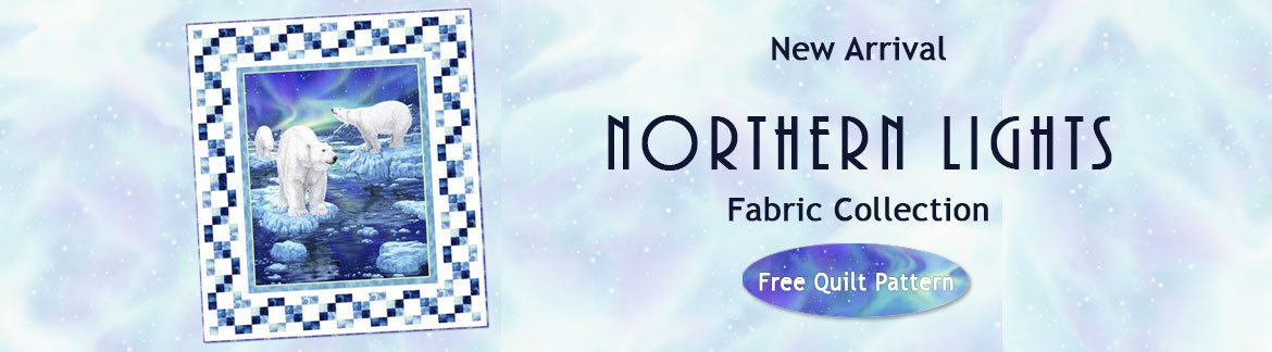Northern Lights Fabric Collection by Quilting Treasures