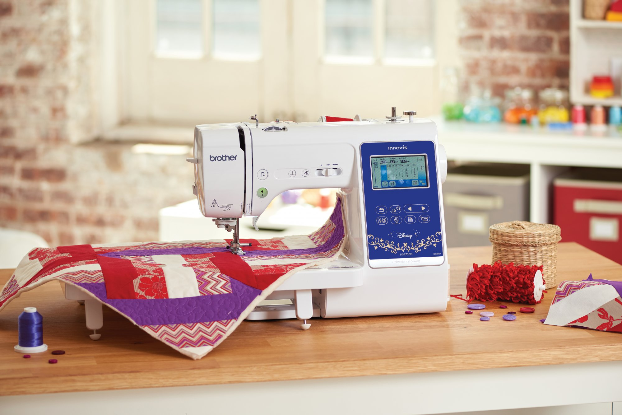 Brother Innov-is NS1750D Sewing & Embroidery Machine