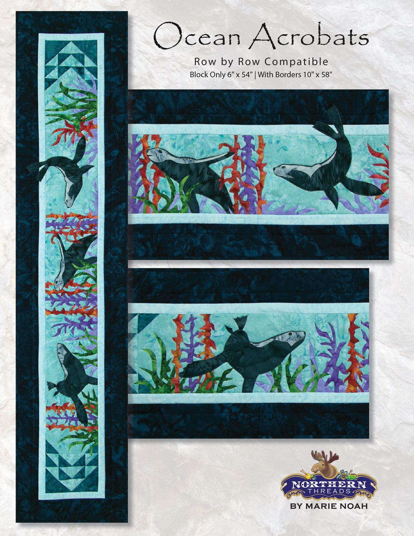 Ocean Acrobats Pattern