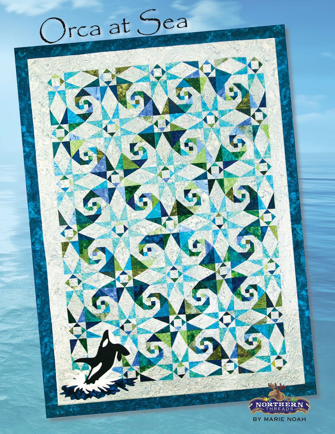 Orca At Sea Pattern