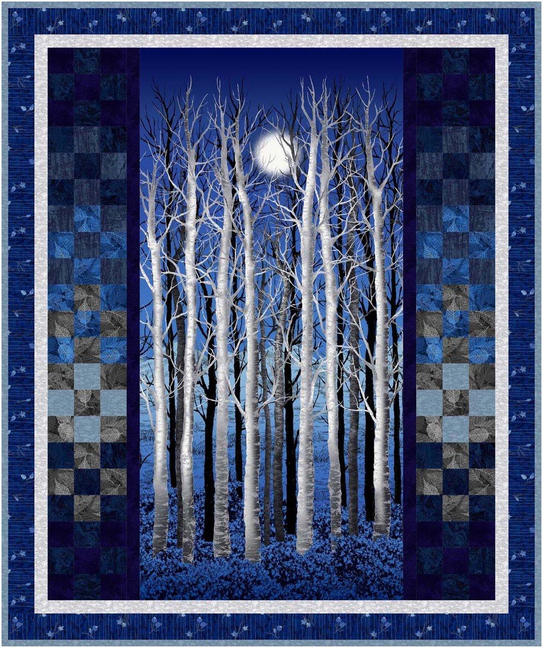Midnight Woods Quilt Kit