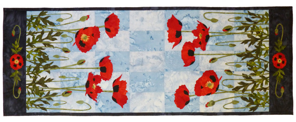 Poppies Pattern by Wildfire Designs