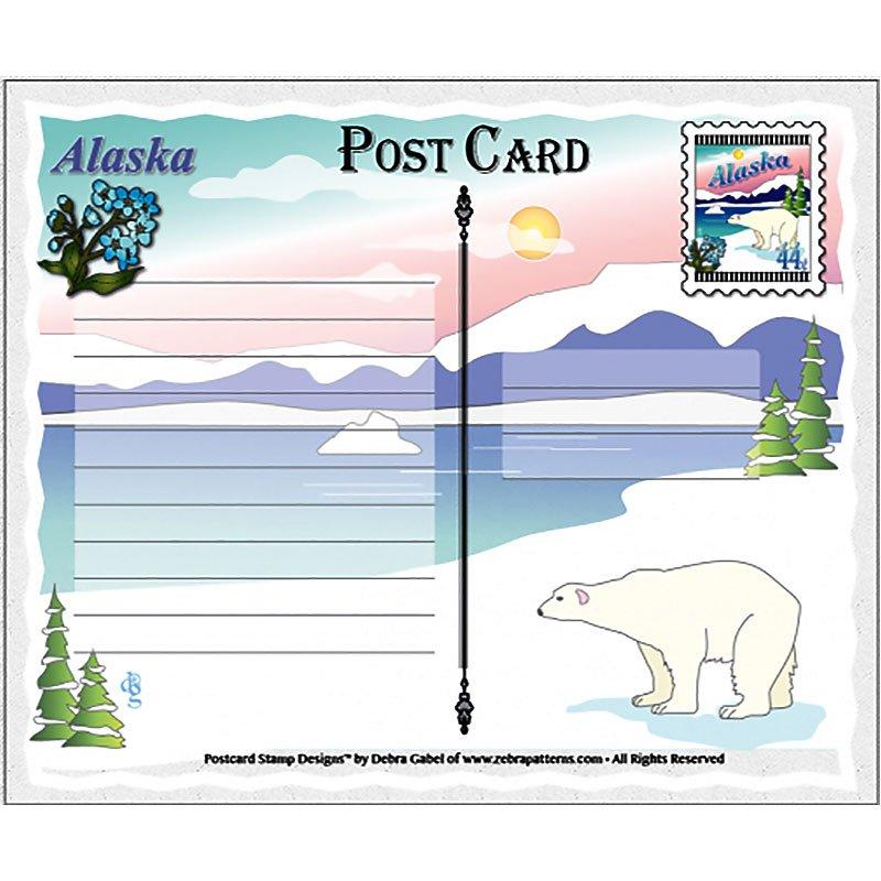 Postcard Alaska Kit