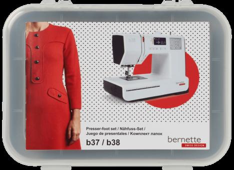 Bernette Sewing Presser-foot set B37/38 #502060147