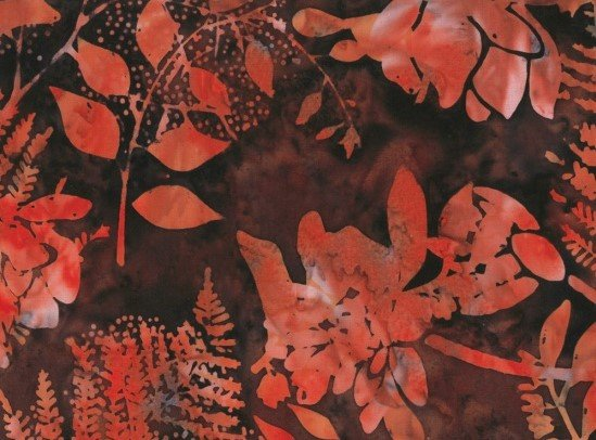 Bali Batik Floral Mix Q2140-533 Nightshade