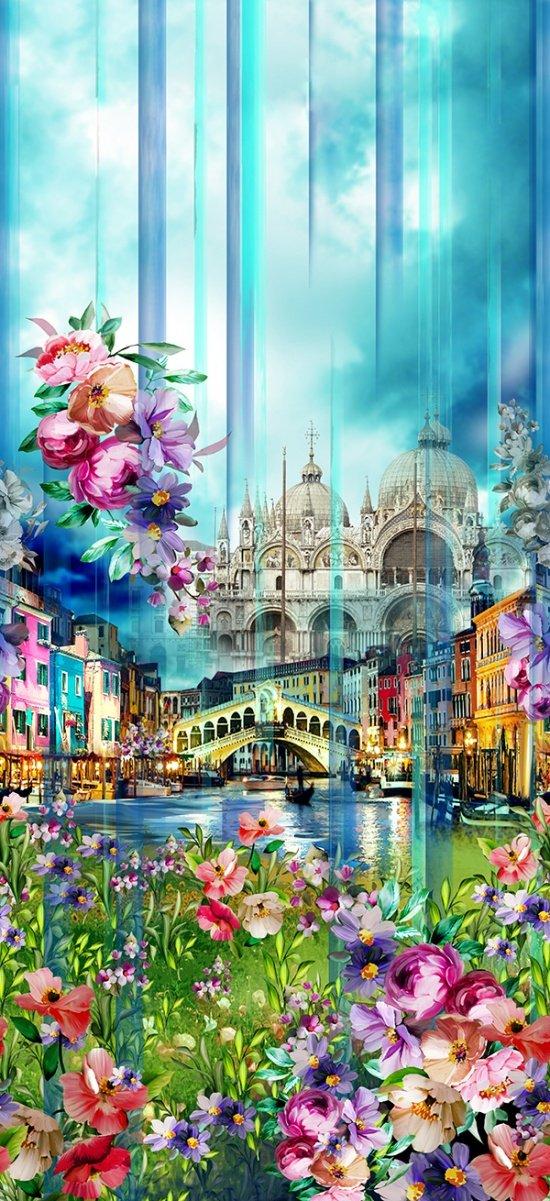 Wanderlust Venice Q4473-448 Blossom