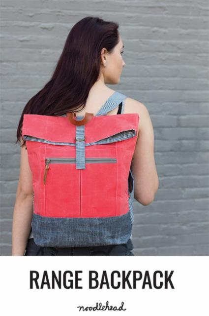 Range Backpack Pattern by Anna Graham