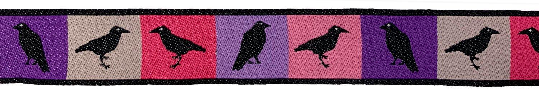 7/8 Woven Trim AK Spring Ravens