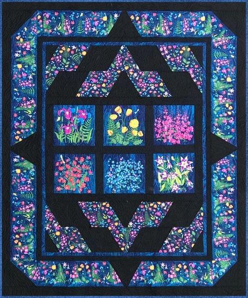 Alaska Wildflowers Quilt Kit