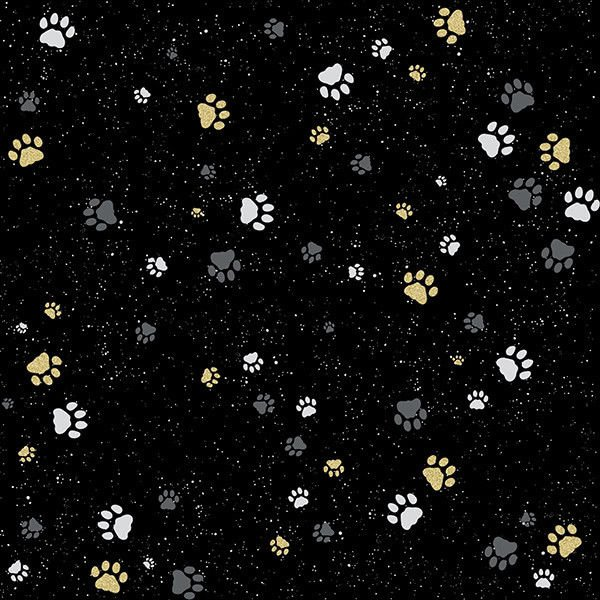 Sparkle and Fade Q4453-4G Black/Gold