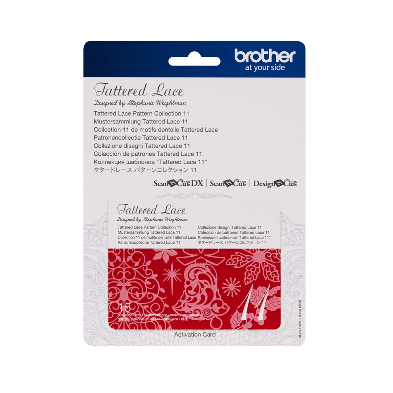 Brother ScanNCut Tattered Lace Collection 11 CATTLP11