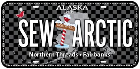 Sew Arctic Fabric Plate