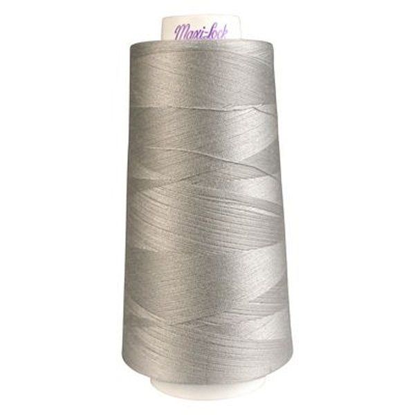 Maxi Lock Polyester Serger 50wt 3000yds Silver