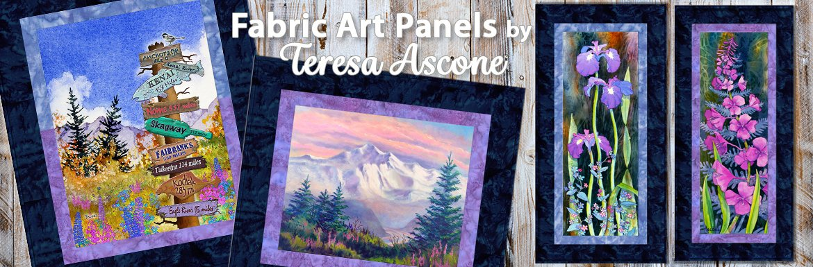 Teresa Ascone Fabric Panels