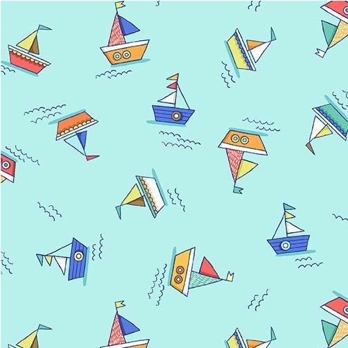 Minky Make a Splash - Row Boats