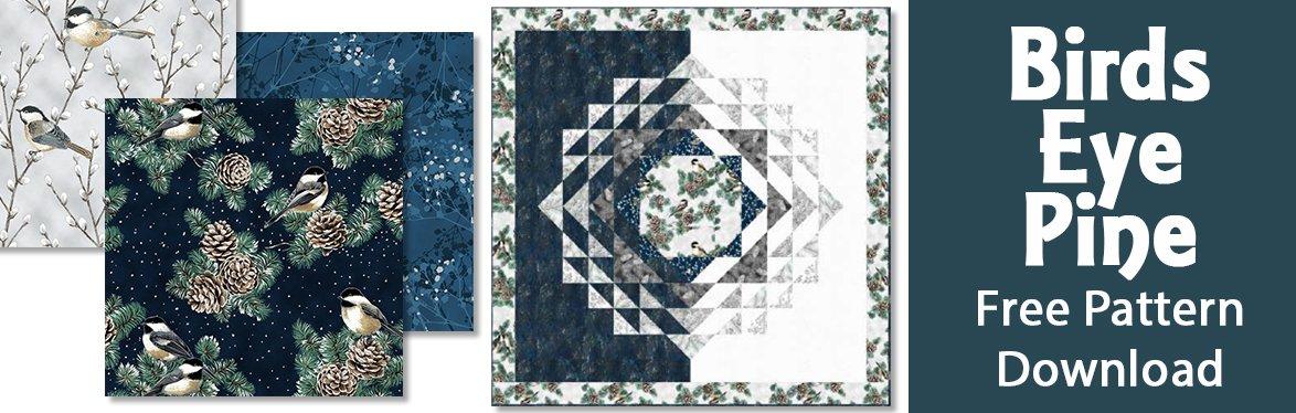 Birds Eye Pine Free Pattern Download