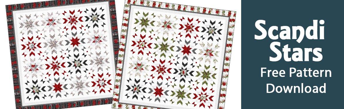 Scandi Stars Free Pattern Download