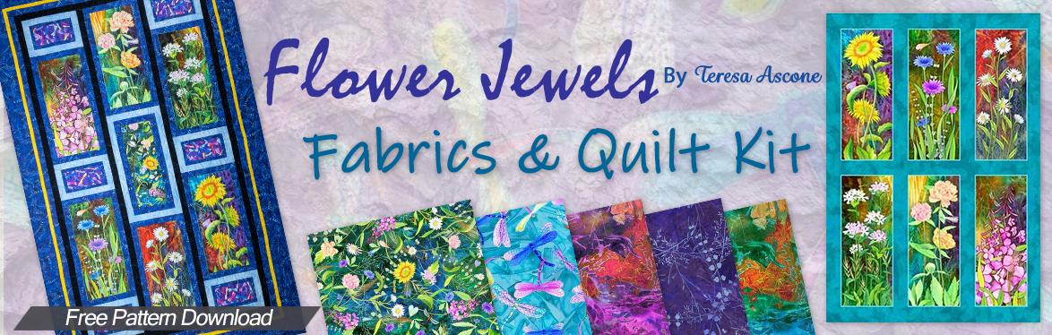 Flower Jewels by Teresa Ascone