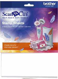 Brother Scan N Cut Stamp Sheet