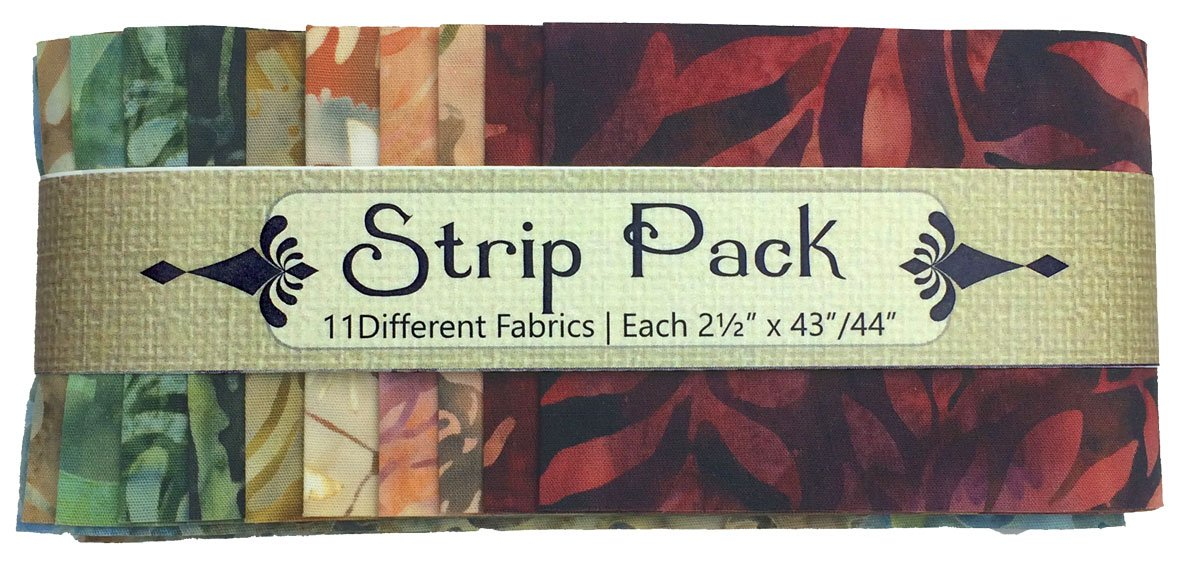 Strip Pack Pre Cut 2.5 Inch Autumn