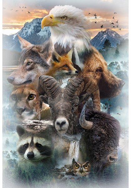 Call of the Wild NA Animals T4876-58 Earth